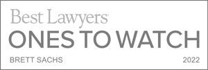 Best Lawyers – Ones to Watch – Brett Sachs